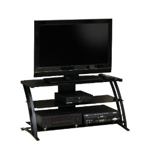 Sauder Deco Panel Tv Stand Black Review Best Home Furniture